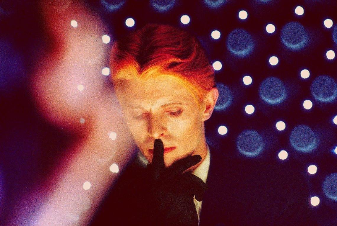 Steve Schapiro, Bowie Blue, Los Angeles 1975