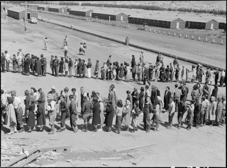 Dorothea Lange Japanese-American Internment Camp WWII