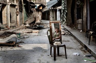 (C) Fabio Bucciarelli Aleppo, Syria, 2012