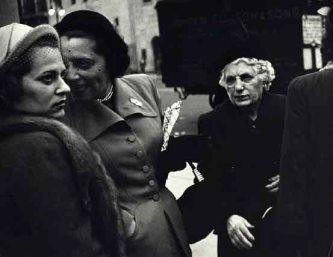 57th St New York City ca 1951 (C) Dan Weiner