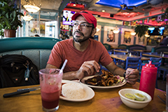 One of Tato's regular lunch spots on Jamaica Ave, is Pollos Doña Maria.