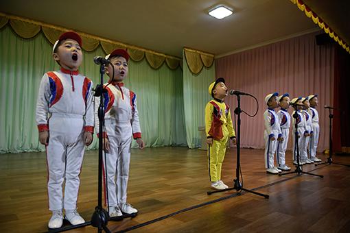 NKOREA-CHILDREN-EDUCATION-POLITICS